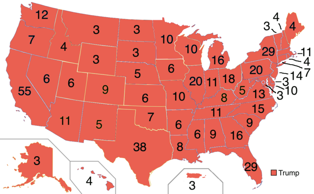 File:2020 Electoral Map President Trump.png