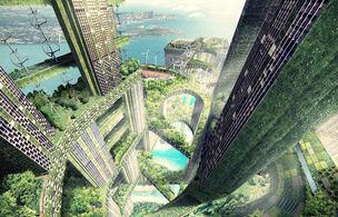 Green-skyscraper