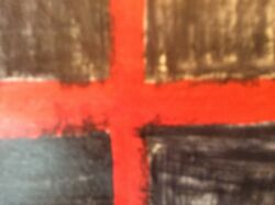 New flag of the UK. Incorporating the English flag and the St Davids flag