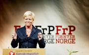 Siv Jensen Landsmøte 2009