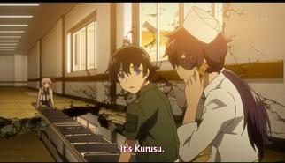 Uryuu as nurse