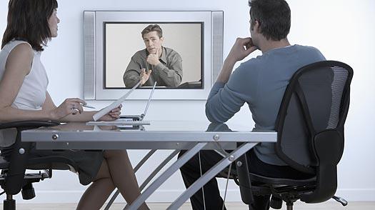 Web-cam-interview