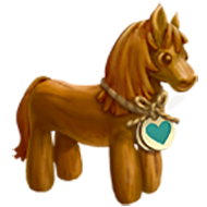 Heirloom Wood Horse