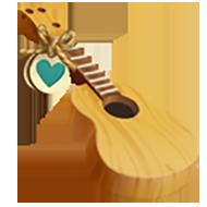 Heirloom Wood Guitar