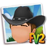 Male Black Cowboy Hat