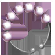 Pearl Lavender Headband