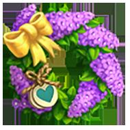 Heirloom Vitex Wreath