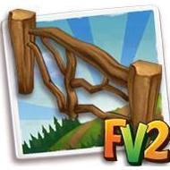 Driftwood Fence
