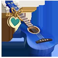 Heirloom Blue Guitar