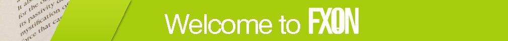 FXON welcome banner