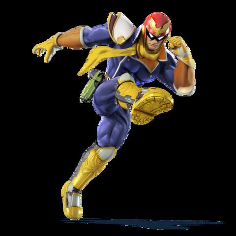 File:Captain Falcon character portrait.png