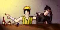 Toph and Tom-Tom Snippets