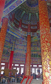 Hall of Prayer for Good Harvests interior 2014
