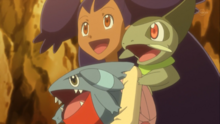 Iris-with-Axew-and-her-new-Gible-pokemon-37417994-500-281