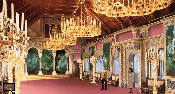 File:Neuschwanstein Singers Hall.jpg
