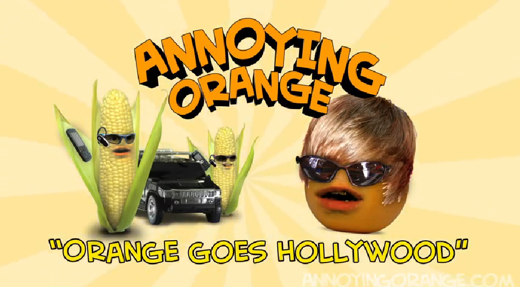 annoying orange orange goes hollywood gagfilms wiki