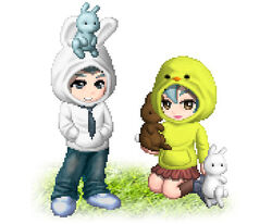 Bunny Chicky Hoodie promo