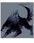 H2k11 wolf black flip