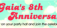 Gaia's 8th Anniversary