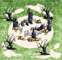 GaiaTowns Halloween Graveyard Day