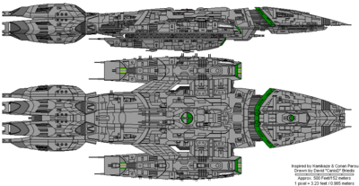 Sigurd Class Medium Battlestar