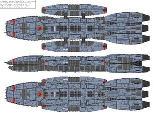 Battlestar Pythia - Victorious type