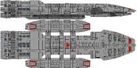 Prometheus Subclass Battlestar (D8)