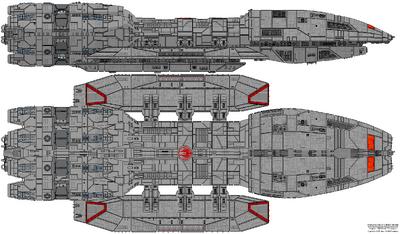 Battlestar Helios (Mercury Class)