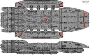 Battlestar Stryker (Orion Class Refit)