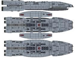 Battlestar Libran (Gemenon Class Battlestar)