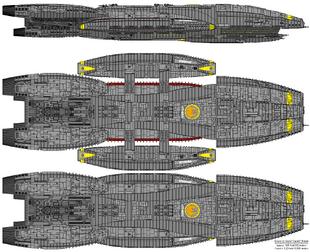 Battlestar Athena - Columbia Class