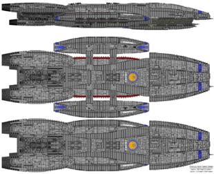 Battlestar Pacifica - Columbia Class