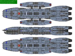 Battlestar Leonidas - Victorious type
