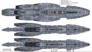 Sabre Class Gunstar Mark I