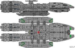 Andraste Class Battlestar