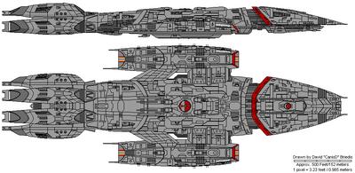Valkyrie Class Battlestar