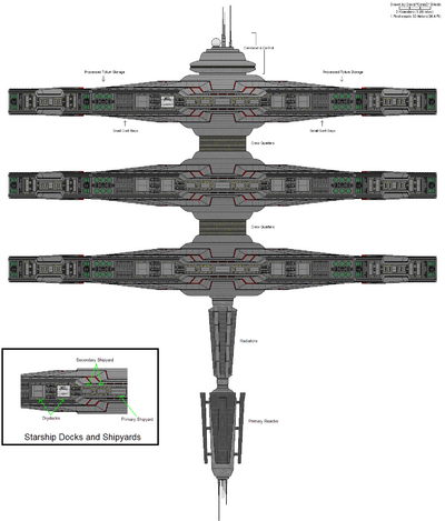 Camelot Space Station (Side)