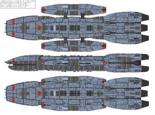 Battlestar Dodona - Victorious type