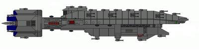 Warlock Class Heavy Destroyer