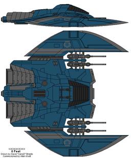 Cylon Stealth Raider Mark I