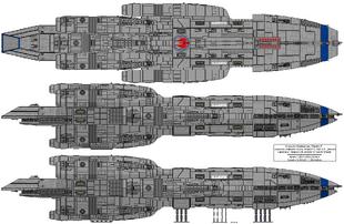 Sabre Class Gunstar Mark III