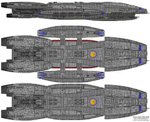 Columbia Class Battlestar Refit