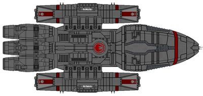 Tethys Class Light Battlestar