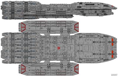 Battlestar Stryker (Titan Class)