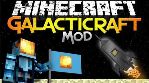 Minecraft Mod Showcase Galacticraft - Launch to the Moon in Minecraft!