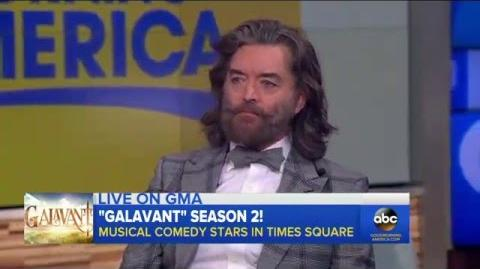 INTERVIEW 'Galavant' Stars Karen David and Timothy Omundson