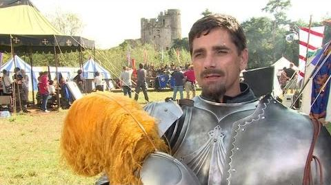 Behind the Scenes With John Stamos on ABC's Daring Musical Comedy 'Galavant'