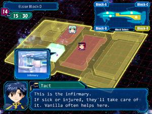 GA VN gameplay (ship tour)