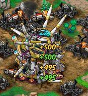 Base 9 destroyed