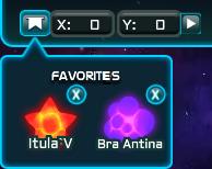 Favorite Galaxy List